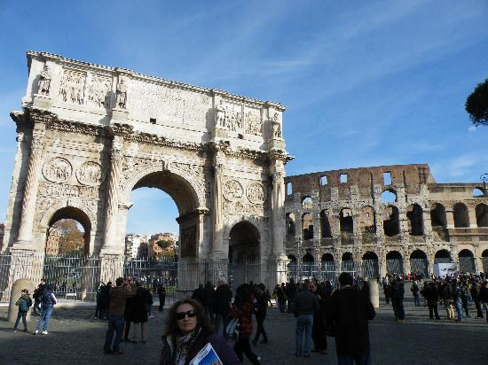 Ciao Roma: arco de trajano