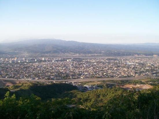 San Salvador de Jujuy, Arjantin: vista de la ciudad desde el Cristo De La Hermandad II