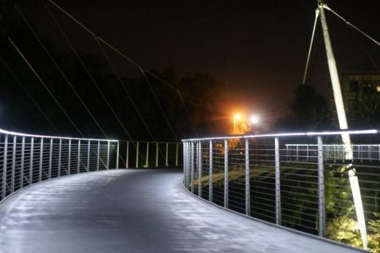 ฟอลส์ปาร์คออนเดอะรีดดี: Falls bridge