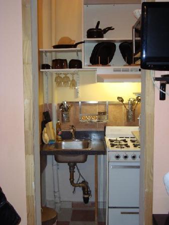 The International Cozy Inn: Cucina - perfettamente equipaggiata!