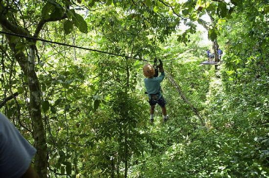 Tambor, Costa Rica: Jungle fun