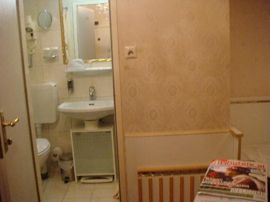 Hotel Zur Wiener Staatsoper: The wee little bathroom