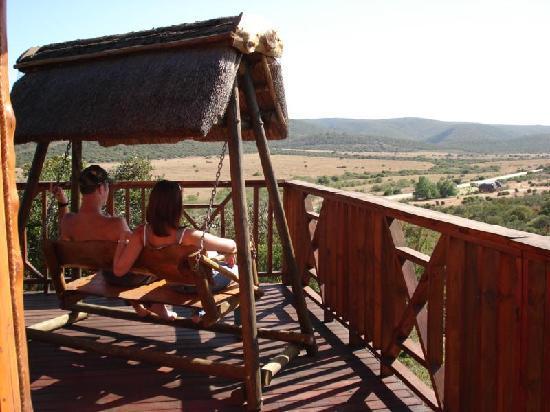 Addo Afrique Estate: Views from lodge, Addo Afrique