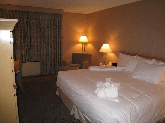 Ramada Plaza Prince George : The Room