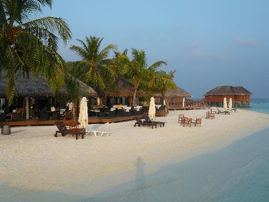 Vakarufalhi Island Resort: esterno bar