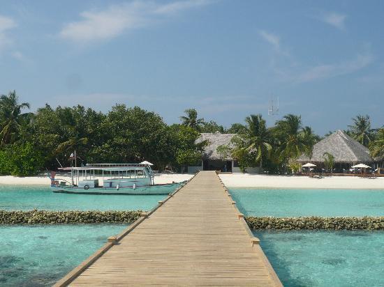 Vakarufalhi Island Resort: pontile