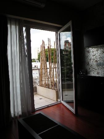 The Glu Hotel: Balcony