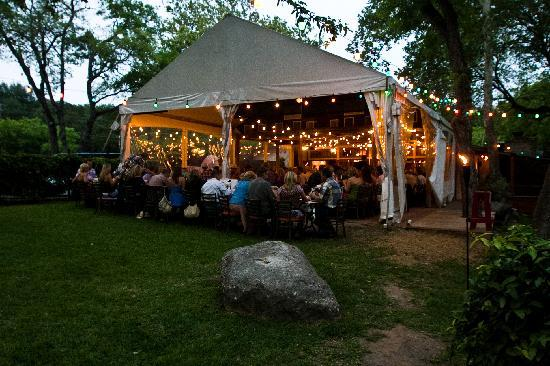 Private Party Tent Picture Of The County Line On The