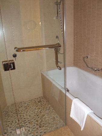 Crowne Plaza Sohar: Oh yes - walk-in shower