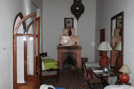 Riad Nora: la chambre caidale