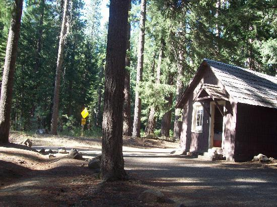 Union Creek Resort: A small Union Creek cabin, they come in all sizes.