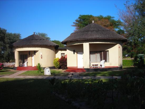 Mangochi, Malaui: Cottages at hotel
