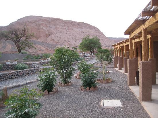 Alto Atacama Desert Lodge & Spa: View of the walk to the rooms