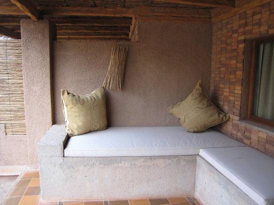 Alto Atacama Desert Lodge & Spa: our patio of our room