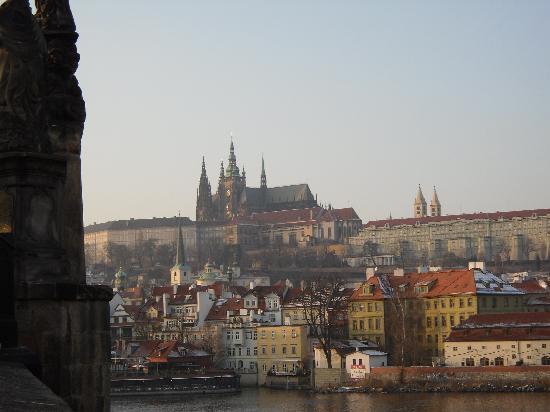 Aparthotel City 5: Vista centro de Prague desde puente