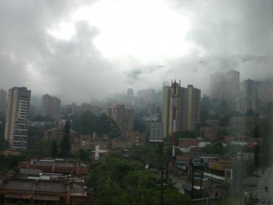 Medellín, Colombia: View from my room