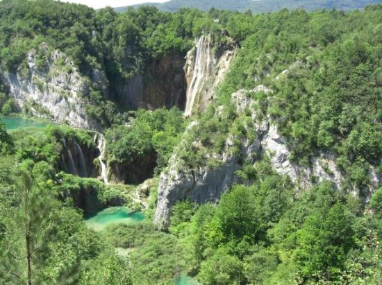 Rijeka, Chorwacja: The Plitvice National park. Croatia.