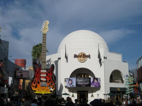 Hard Rock Cafe Disneyland California
