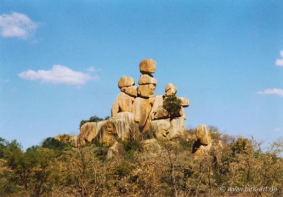 Matobo National Park - The Matopos, Zimbabwe: The Sentry's watching, watching