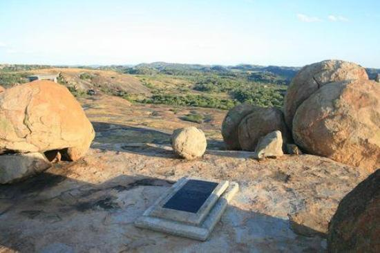 Matobo National Park - The Matopos, Zimbabwe: Rhodes Grave