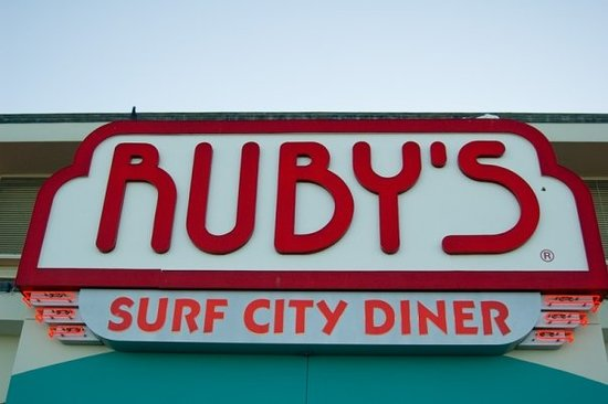 Obligatory Ruby's Diner shot.