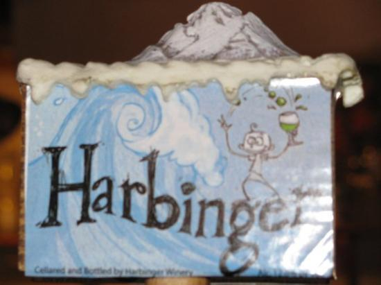 Harbinger Winery: They also brew beer.  Mmmm... my kinda place!