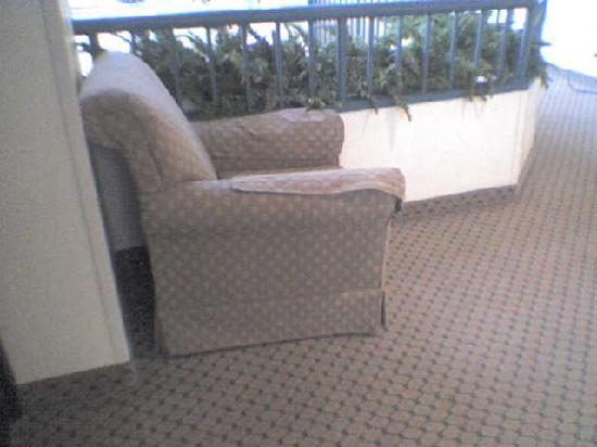 Hilton Boca Raton Suites: More furniture in the hall for several days