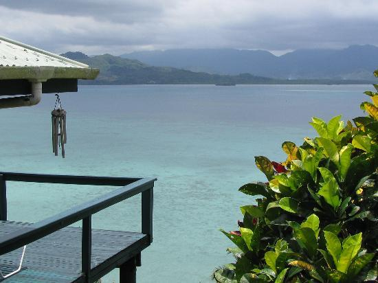 Lomalagi Resort ~ Fiji: the view right outside our villa