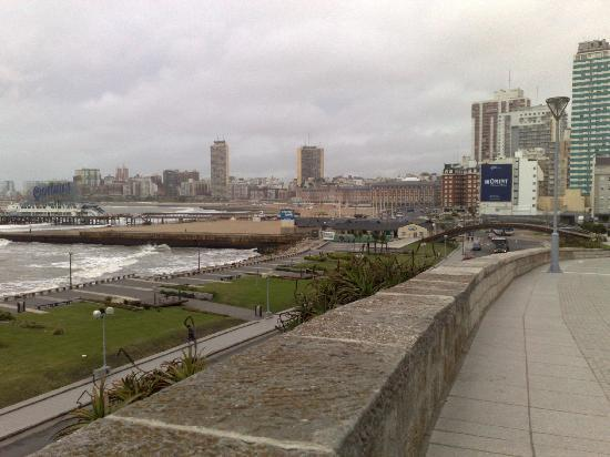 Una vista del centro de Mar del Plata.