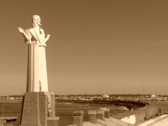 Μαρ ντελ Πλάτα, Αργεντινή: Entrada al puerto de Mar del Plata.