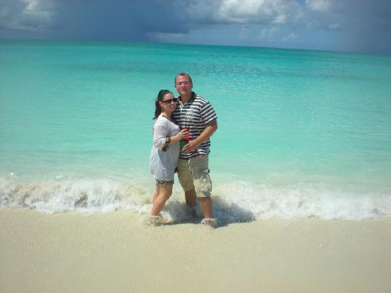 Atlantic Ocean Beach Villas : My better half and I in paradise!