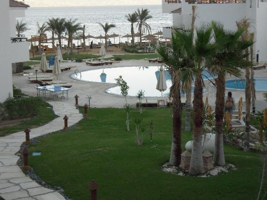 Sea Sun Hotel Dahab: the view from the balcon