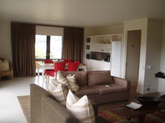 The Rex Hotel: The lounge in suite