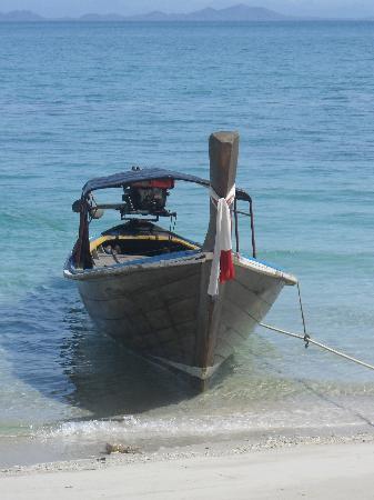 Trang Province, Thailand: Long tail boat