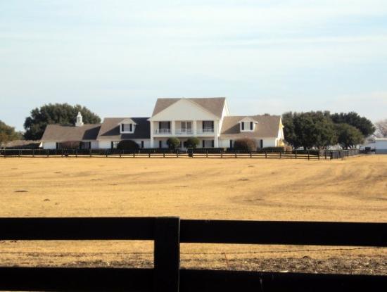 "Southfork Ranch: The house from the soap opera, ""Dallas""... Southfork, Tx."