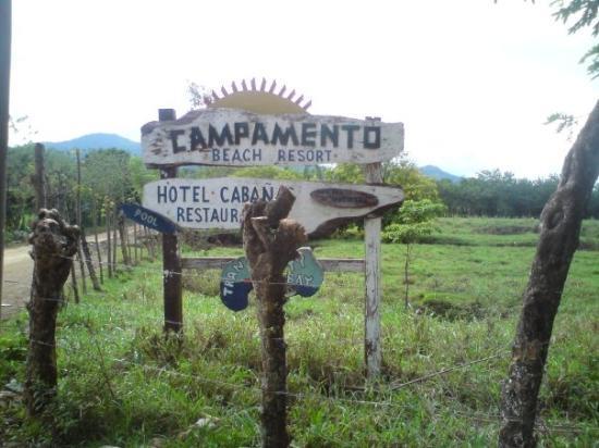 Trujillo, Honduras: Our resort.