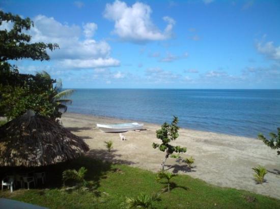 Trujillo, Honduras: View from my window.