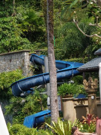 Diamond Cliff Resort and Spa: Water Slide