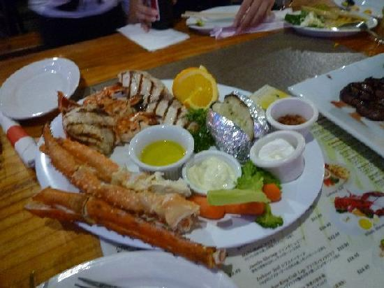 Tumon Bay Lobster & Grill: 料理2