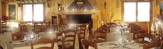 Tende, Fransa: Restaurant