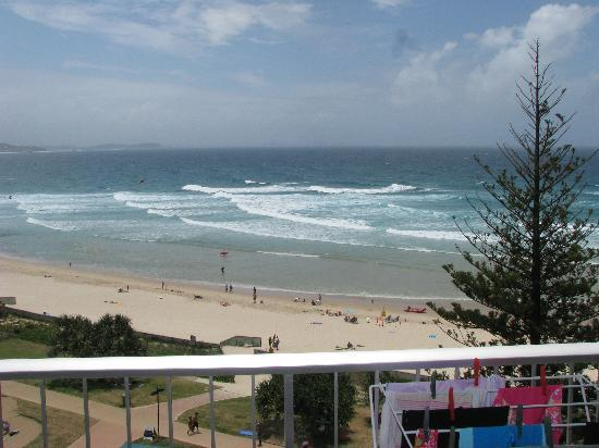 Coolangatta, Australia: View from our Balcony