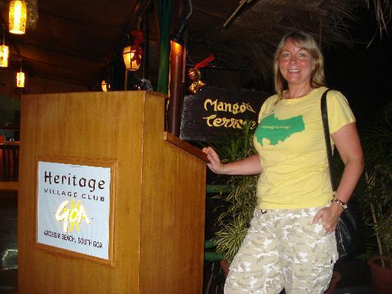 Heritage Village Club Goa : Mango Terrace entrance