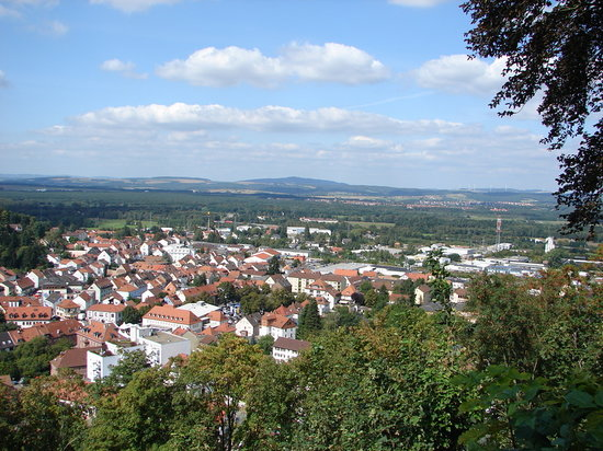 Landstuhl, เยอรมนี: Beautiful view from the Castle