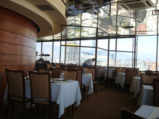 Giratorio Restaurant: vista do restaurante