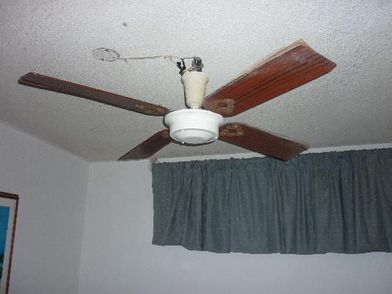 Hotel Casa Dorada: ventilador!