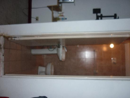 Hotel Casa Dorada: baño
