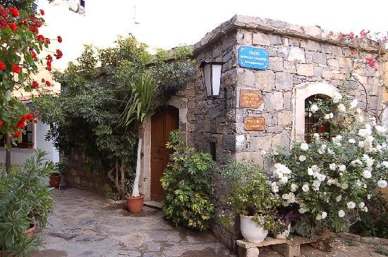 Arolithos Traditional Cretan Village: Building in the village