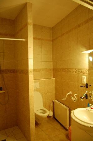 Villa Aggarthi B&B: nice bathroom. Classy.