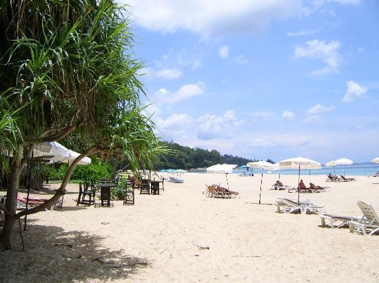 Naithonburi Beach Resort: Strand