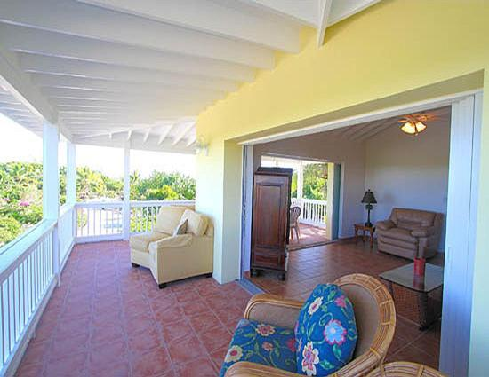 Atlantic Ocean Beach Villas: Jasmine Villa Verandha